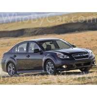 Поколение Subaru Legacy V седан рестайлинг