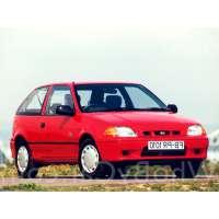 Поколение автомобиля Subaru Justy II 3 дв. хэтчбек