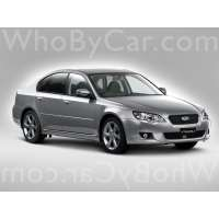 Поколение Subaru Legacy IV седан рестайлинг