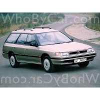 Поколение Subaru Legacy I 5 дв. универсал