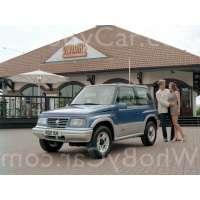 Поколение Suzuki Vitara I 3 дв. внедорожник