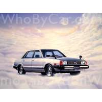 Поколение Subaru Leone II седан