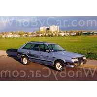 Поколение Subaru Leone II 5 дв. универсал