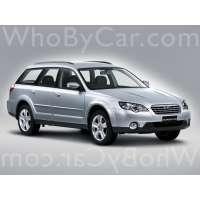 Поколение Subaru Outback III рестайлинг