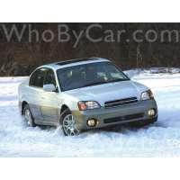 Поколение Subaru Outback II седан