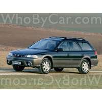 Поколение Subaru Outback I 5 дв. универсал