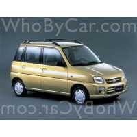 Поколение Subaru Pleo I