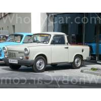 Поколение Trabant 1.1 пикап с одинарной кабиной