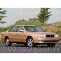 Поколение Toyota Avalon I рестайлинг
