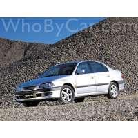 Поколение Toyota Avensis I седан