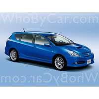 Поколение Toyota Caldina III рестайлинг
