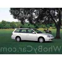 Поколение Toyota Caldina II рестайлинг