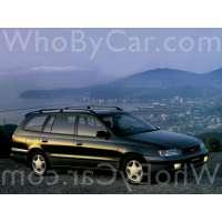 Поколение Toyota Caldina I