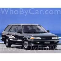 Поколение Toyota Carina V (T170) 5 дв. универсал