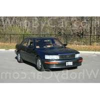 Поколение Toyota Celsior I (F10) рестайлинг