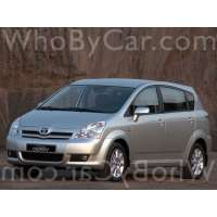 Поколение Toyota Corolla Verso I рестайлинг