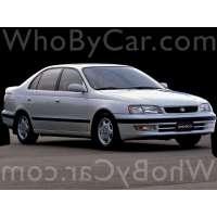 Поколение Toyota Corona X (T190) седан