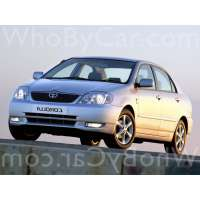 Поколение Toyota Corolla IX (E120, E130) седан