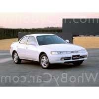 Поколение Toyota Corolla VII (E100) седан-хардтоп