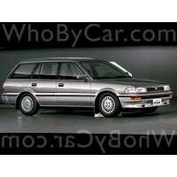 Поколение Toyota Corolla VI (E90) 5 дв. универсал