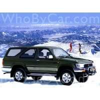 Поколение Toyota Hilux Surf II 3 дв. внедорожник рестайлинг