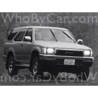 Поколение Toyota Hilux Surf II 3 дв. внедорожник