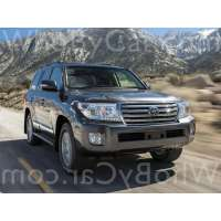 Поколение Toyota Land Cruiser 200 Series рестайлинг