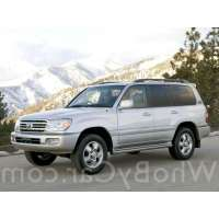 Поколение Toyota Land Cruiser 100 Series 2 рестайлинг