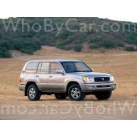Поколение Toyota Land Cruiser 100 Series