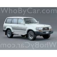 Поколение Toyota Land Cruiser 80 Series рестайлинг