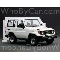 Поколение Toyota Land Cruiser 70 Series 3 дв. внедорожник