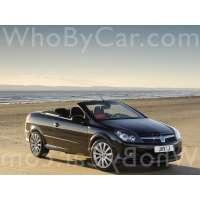 Поколение Vauxhall Astra H кабриолет