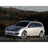 Поколение Vauxhall Astra H 5 дв. универсал