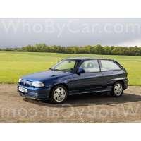 Поколение Vauxhall Astra F 3 дв. хэтчбек