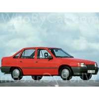 Поколение Vauxhall Astra E седан