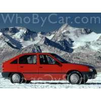 Поколение Vauxhall Astra E 5 дв. хэтчбек