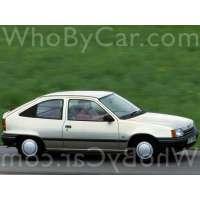 Поколение Vauxhall Astra E 3 дв. хэтчбек