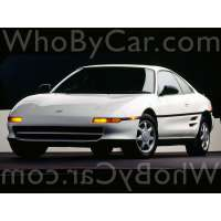 Поколение Toyota MR2 II (W20) купе
