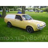 Поколение Vauxhall Chevette 3 дв. универсал