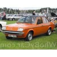 Поколение Vauxhall Chevette седан