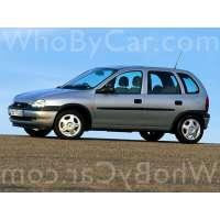 Поколение Vauxhall Corsa B 5 дв. хэтчбек