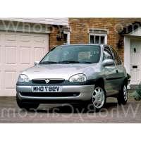 Поколение Vauxhall Corsa B 3 дв. хэтчбек