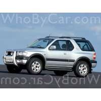 Поколение Vauxhall Frontera B 3 дв. внедорожник