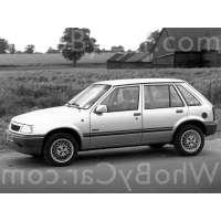 Поколение Vauxhall Nova 5 дв. хэтчбек