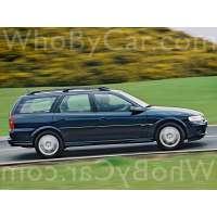 Поколение Vauxhall Vectra B 5 дв. универсал
