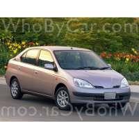 Поколение Toyota Prius I (NHW10)