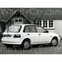 Поколение Toyota Starlet IV (P80) 5 дв. хэтчбек