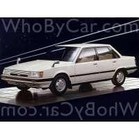 Поколение Toyota Vista I (V10) седан