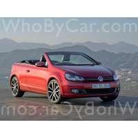 Поколение Volkswagen Golf VI кабриолет