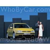Поколение Volkswagen Golf IV 3 дв. хэтчбек
